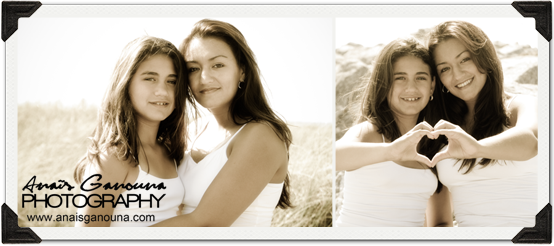 mother daughter portrait session shoot on the beach miami