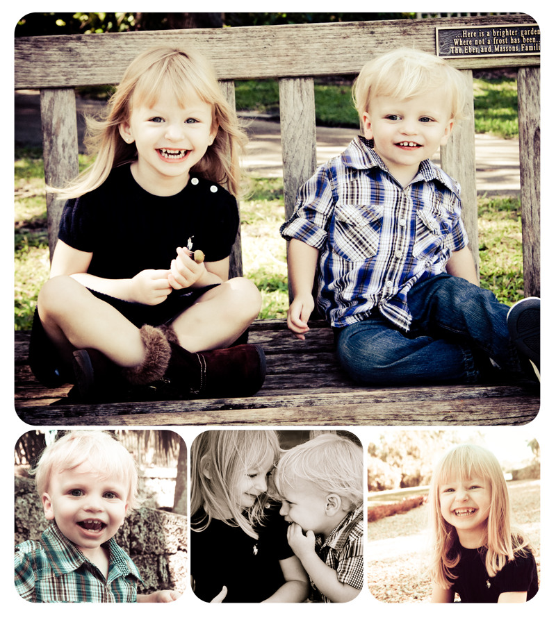 Kids Sibling Session | Fairchild Tropical Gardens Portrait