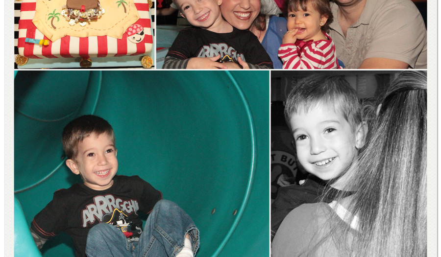 Mikey's 3rd Birthday Pictures