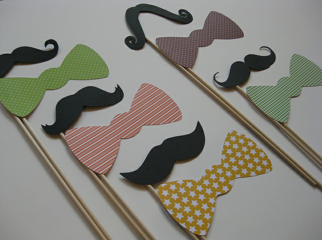 Staches and Bows