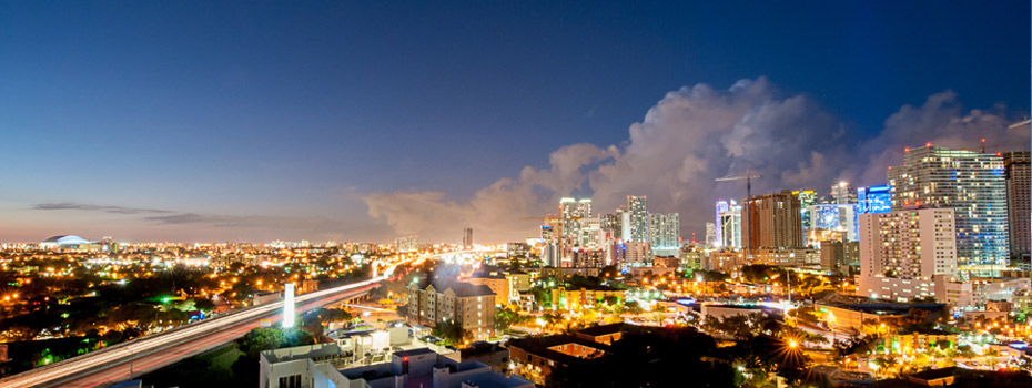 miami-city-downtown-skyline-cityscape-highway-marlins-park