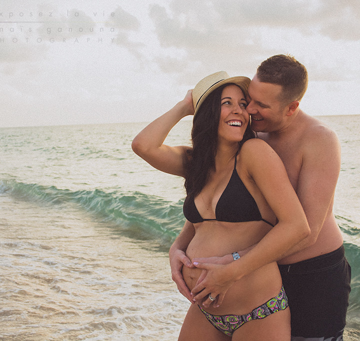 Lena & Jimmy - Sunrise Maternity Session